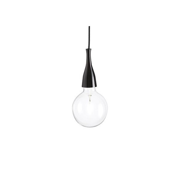 Suspension Minimal – Noir – 2 x E27 70W – Ideal-Lux