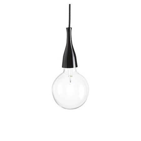 Suspension Minimal – Noir – 2 x E27 70W – Ideal-Lux