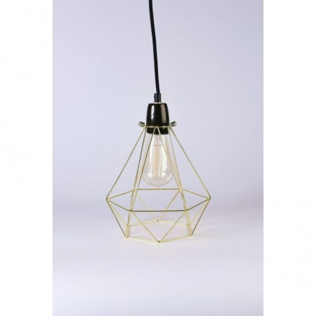 Lampe DIAMOND 1 - gold - Filamentstyle