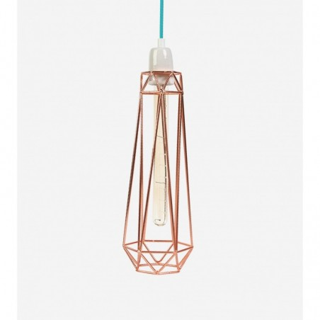 Lampe DIAMOND 2 - bronze - Filamentstyle
