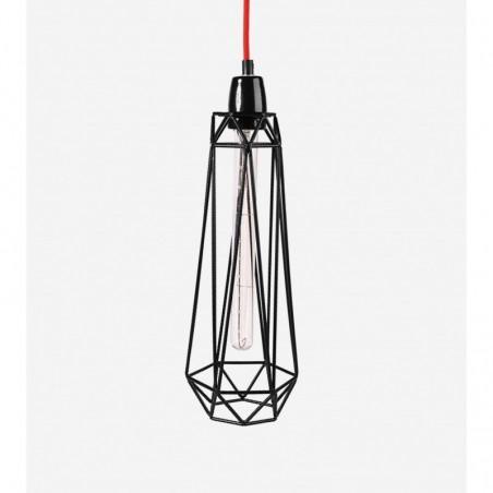 Lampe DIAMOND 2 - noir - Filamentstyle