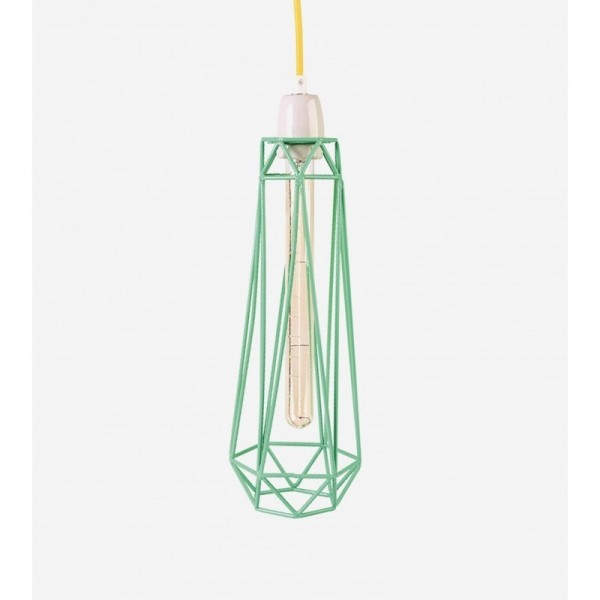 Lampe DIAMOND 2 - mint - Filamentstyle