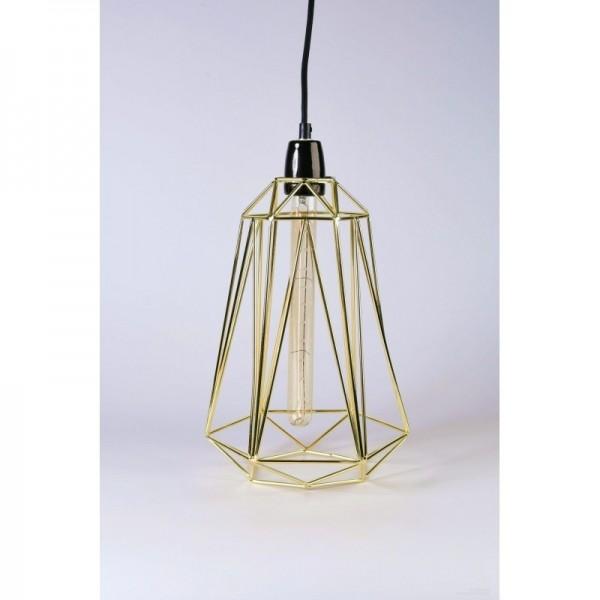 Lampe DIAMOND 5 - gold - Filamentstyle
