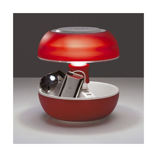 Lampe design JOYO lightcolours rouge | Luminaire Discount