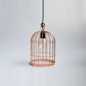 Lampe BIRD CAGE - cuivre - Filamentsyle