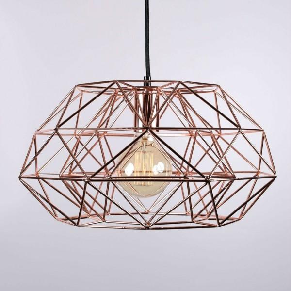 Suspension DIAMOND 7 - Cuivre - Filament Style