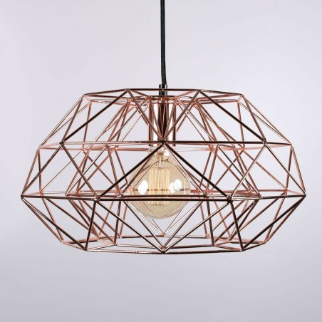 Suspension DIAMOND 7 - Cuivre - Filament Style