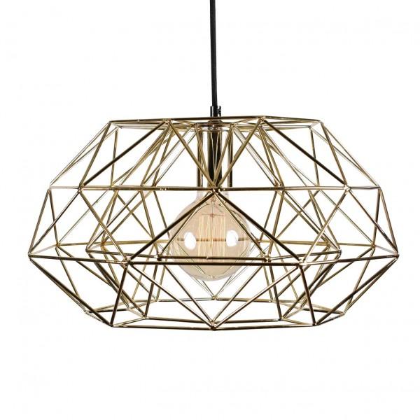 Suspension DIAMOND 7 - gold - Filament Style