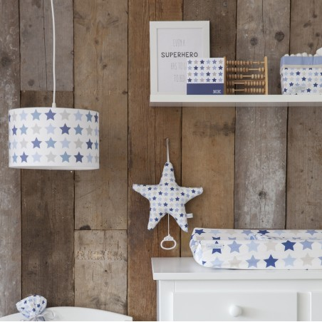 Suspension enfant Mixed stars blue  Ø 30 cm - Little Dutch
