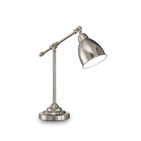 Lampe NEWTON – Nickel – H55 cm – Ideal-Lux