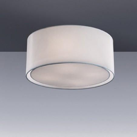 Plafonnier WHEEL - tissu - Ø50cm - Ideal-Lux