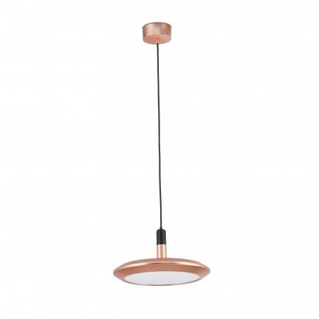 Suspension LED - PLANET - 12W - cuivre - Faro