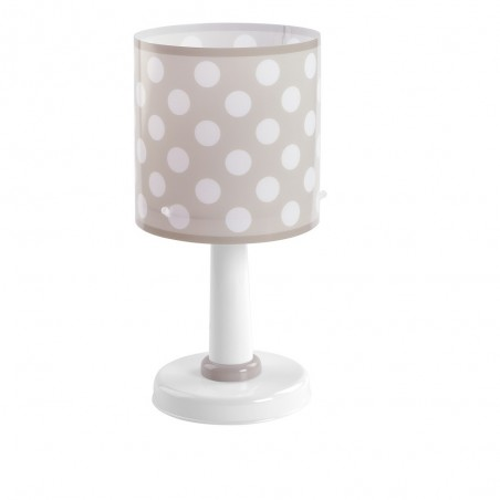 Lampe enfant DOTS - H29cm - PVC - Dalber
