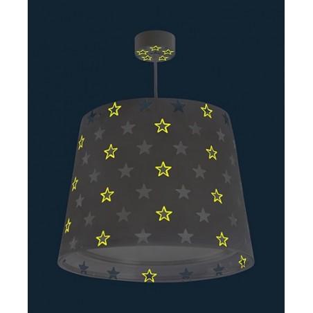 Suspension enfant STARS - gris - Ø33cm - Dalber