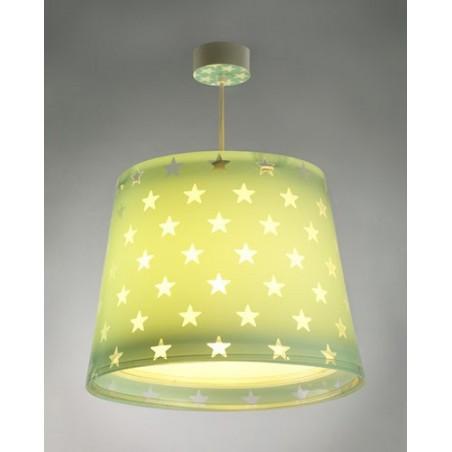 Suspension enfant STARS - vert - Ø33cm - Dalber