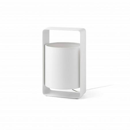 Lampe à poser - LULA - H27cm - blanc - Faro