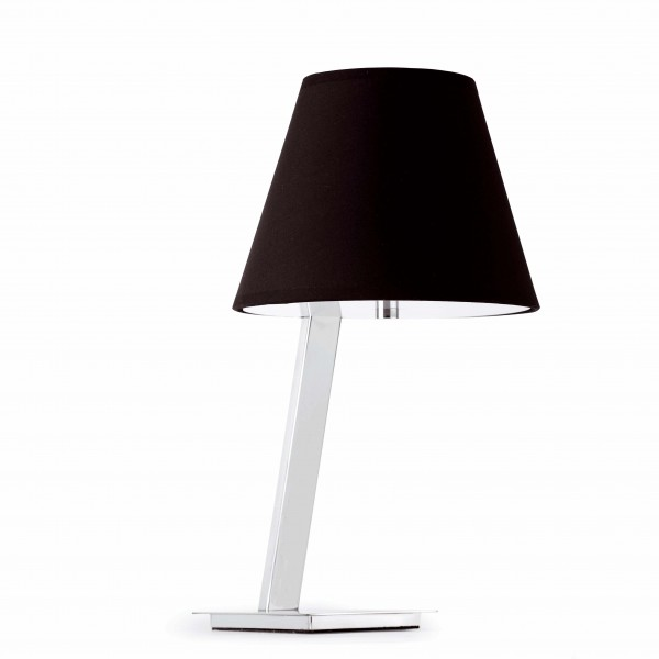 Lampe de table MOMA - noir - H44cm - Faro