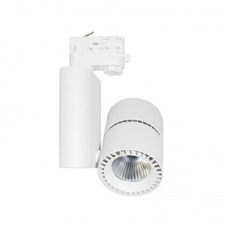 Spot LED sur Rail 40W - 4000°K - blanc - Vision El