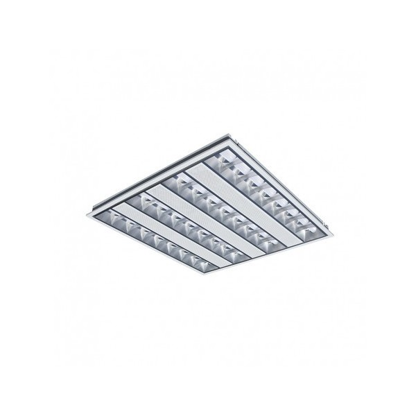 Dalle LED 595x595 - 38W - 4000K - basse luminance - Vision El