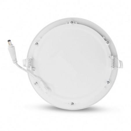 Encastré LED rond - Ø170  - 12W - 3000°K - alu blanc - Vision El