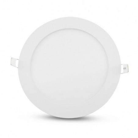 Encastré LED rond - Ø170  - 12W - 4000°K - alu blanc - Vision El