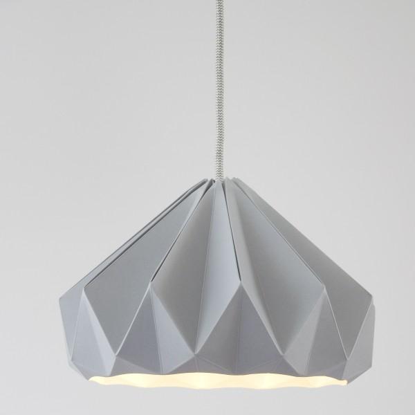Suspension CHESTNUT - gris - Ø28cm - Studio Snowpuppe