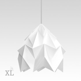 Suspension Moth XL - Blanc - Ø40cm - Studio Snowpuppe