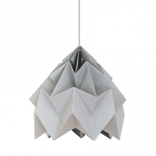 Suspension Moth XL - Gris - Ø40cm - Studio Snowpuppe