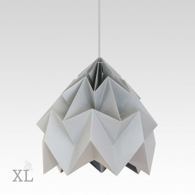 Suspension Moth XL - Gris - Ø40cm - Studio Snowpuppe