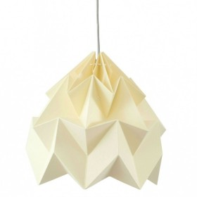 Suspension Moth XL - jaune - Ø40cm - Studio Snowpuppe