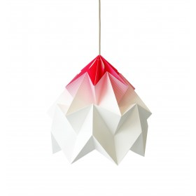 Suspension Moth XL - degradé rose - Ø40cm - Studio Snowpuppe