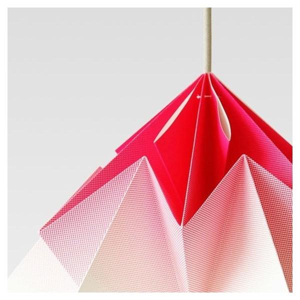 Suspension Moth XL - degradé rose - Ø40cm - Studio Snowpuppe