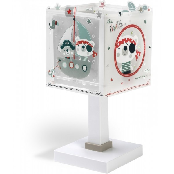 Lampe enfant THE PIRATES - H29cm - Dalber