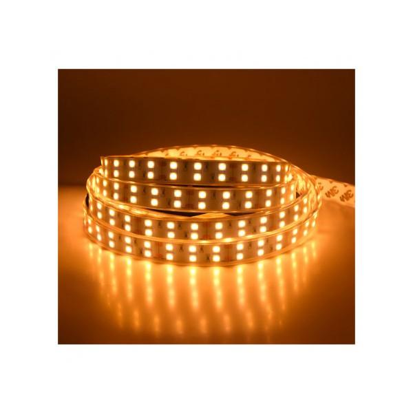 Ruban LED - 5m - IP67- 60W - 3000K - 24V - 2 lignes - Vision-el
