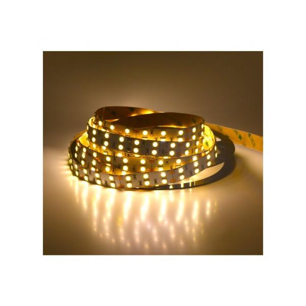 Ruban LED - 5m - 60W - 4000K - 24V - 2 lignes - Vision-el