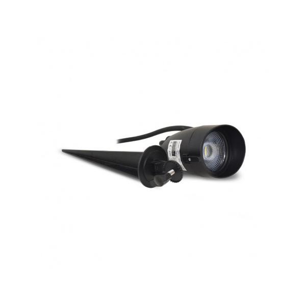 Projecteur sur piquet LED 6W - 4000K - IP65 - 230V - Vision-el