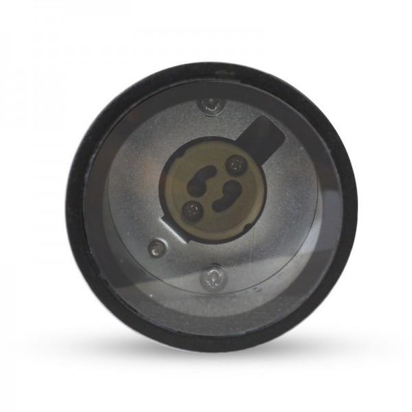 Projecteur sur piquet GU10 - IP65 - noir - 230V - Vision-el