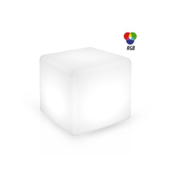 Cube lumineux RGB - sans fil - IP44 - Vision-el