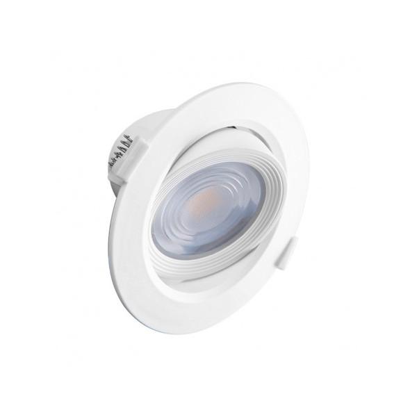 Spot LED SMD encastrable 10W - 3000K - orientable - blanc - Vision-el