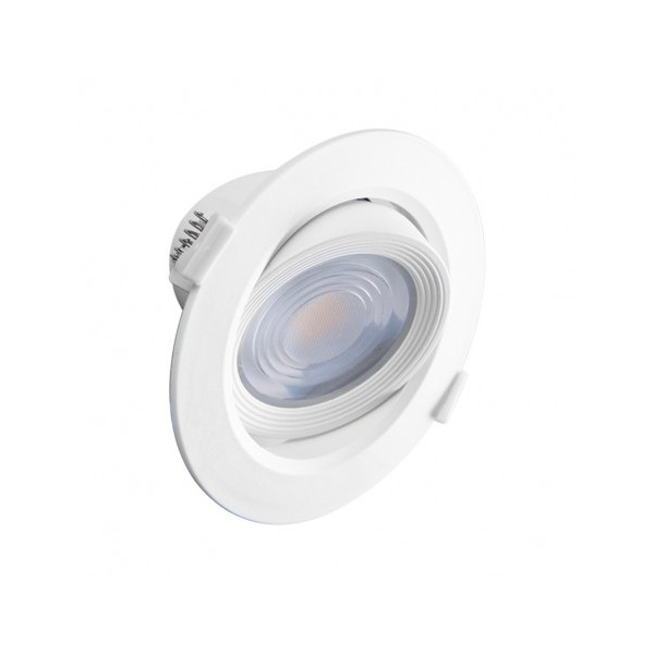 Spot LED SMD encastrable 10W - 4000K - orientable - blanc - Vision-el